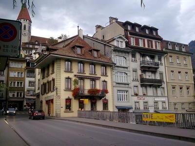 Gasheizung Stadt Thun