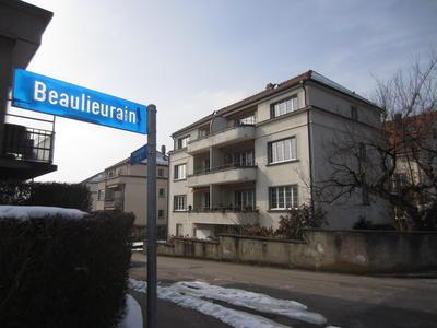Mehrfamilienhaus in Bern mit Erdsonden-Wärmepumpe