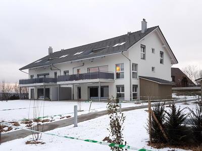 Mehrfamilienhaus mit Erdsonden Wärmepumpe