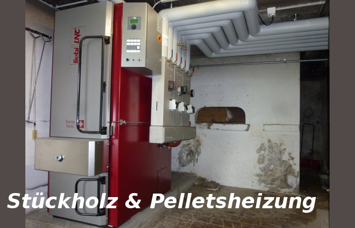 Holzvergaser Stückholzkessel von Liebi Heizungen